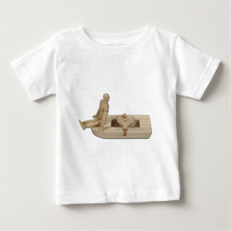 RelaxingPowerBoat020511 Baby T-Shirt