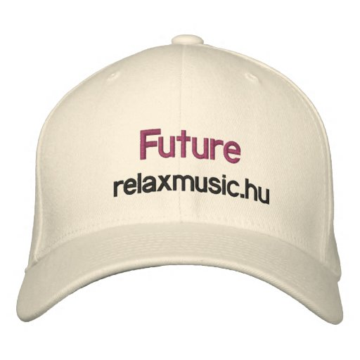 relaxmusic.hu, Future base ball cap Embroidered Hats