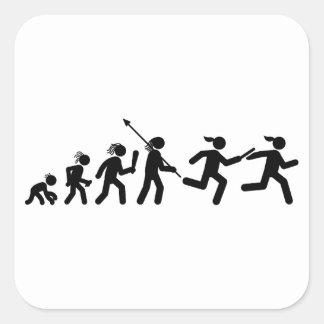Relay Runner Sticker