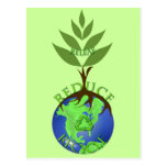 Releaf Reduce Recycle Postcard