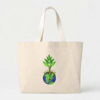 Releaf Reduce Recycle Jumbo Tote Bag