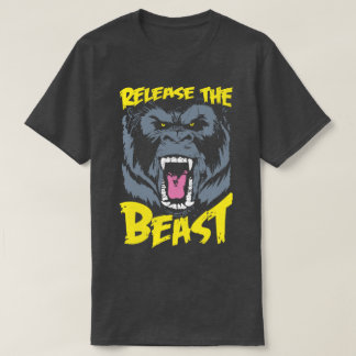 Release The Beast Gym Sport Bodybuilding T-Shirt