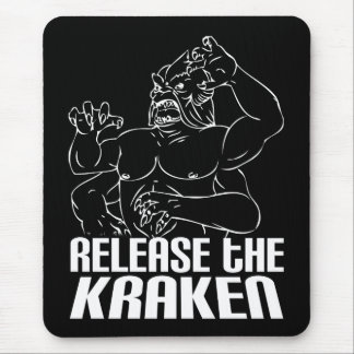Release the Kraken Mouse Pad