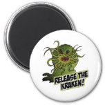 release the kraken refrigerator magnet
