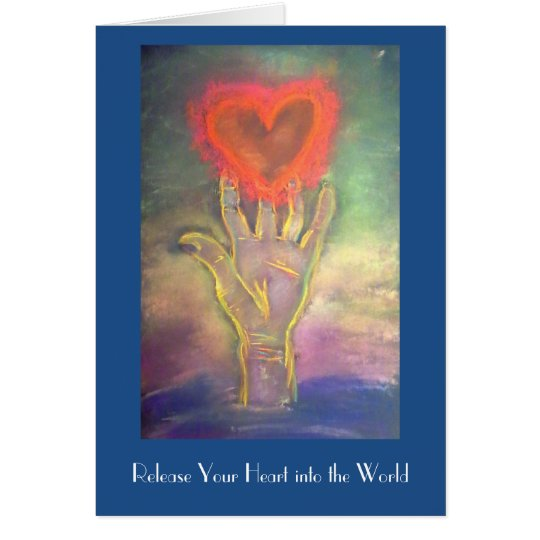 Release Your Heart greeting card