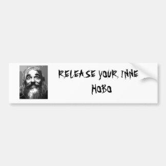 Release your Inner Hobo Bumper Sticker