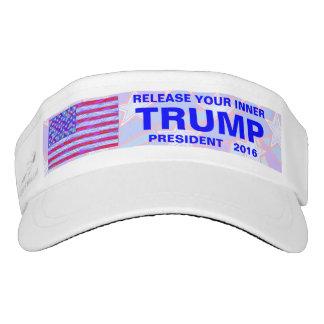 Release Your Inner Trump Funny Tennis Or Garden Visor