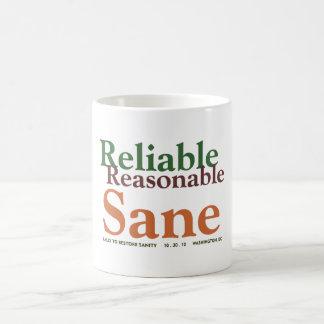 Reliable & Sane mug