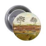 Relic Contemporary Modern Abstract Painting 6 Cm Round Badge