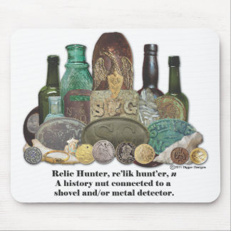 Relic Hunter Definition Mouse Mat