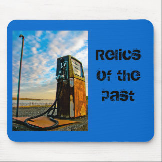 Relics of the past mouse pad