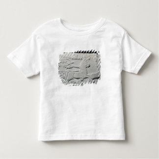 Relief depicting a deer hunt toddler T-Shirt