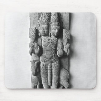 Relief depicting a double-headed image of Agni Mouse Pad