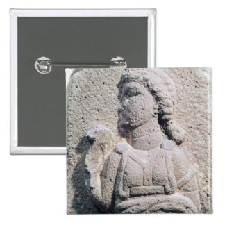 Relief depicting a Hittite woman in 15 Cm Square Badge