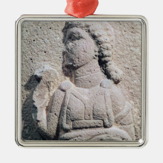 Relief depicting a Hittite woman in Christmas Ornament