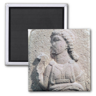 Relief depicting a Hittite woman in Magnet