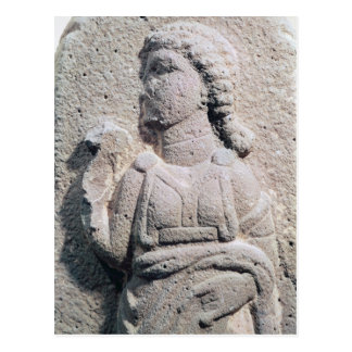 Relief depicting a Hittite woman in Postcard