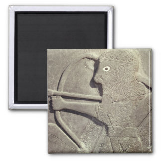 Relief depicting a hunter, from Tell-Halaf, Magnet