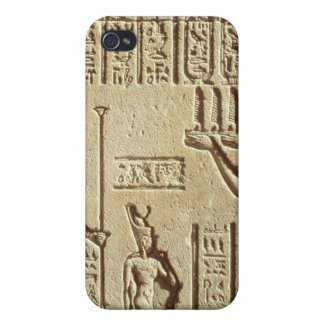 Relief depicting a pharaoh iPhone 4 case