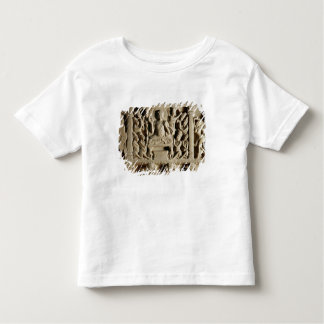 Relief depicting a Seated Buddha preaching Toddler T-Shirt