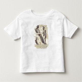 Relief depicting a visit to the doctor toddler T-Shirt