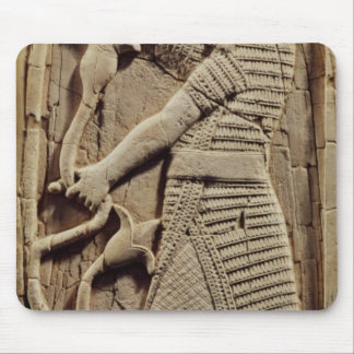 Relief depicting a warrior mousepad