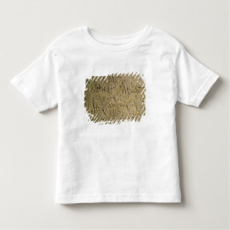 Relief depicting circus games toddler T-Shirt