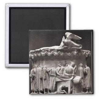 Relief depicting drapers fridge magnets