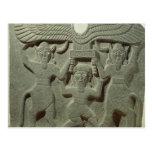 Relief depicting Gilgamesh between two