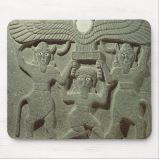 Relief depicting Gilgamesh between two Mouse Pads