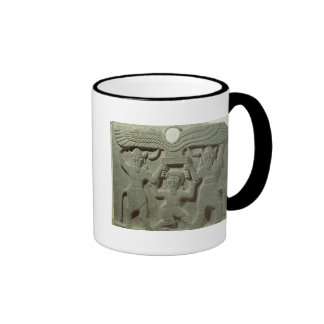 Relief depicting Gilgamesh between two Ringer Coffee Mug