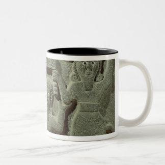 Relief depicting Gilgamesh between two Mugs