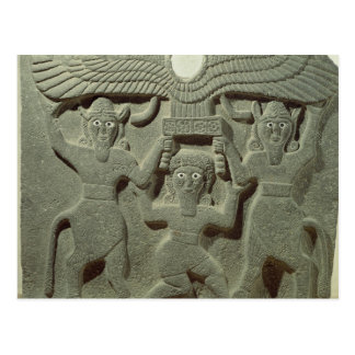 Relief depicting Gilgamesh between two Postcard
