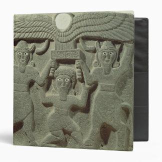 Relief depicting Gilgamesh between two Vinyl Binder