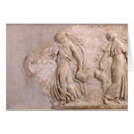 Relief depicting maenads dancing, from Tunisia Greeting Card