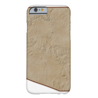 Relief Map of Arizona Barely There iPhone 6 Case