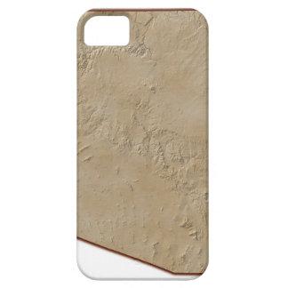 Relief Map of Arizona iPhone 5 Case