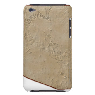 Relief Map of Arizona iPod Touch Case