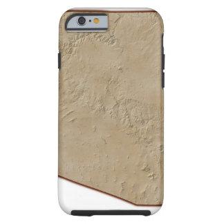 Relief Map of Arizona Tough iPhone 6 Case