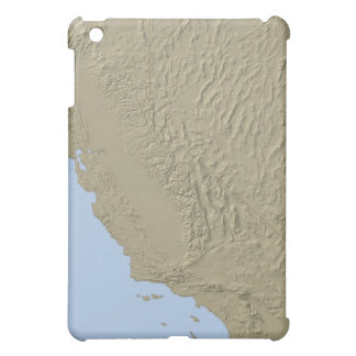 Relief Map of California and Nevada Case For The iPad Mini