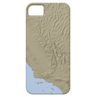 Relief Map of California and Nevada iPhone 5 Covers