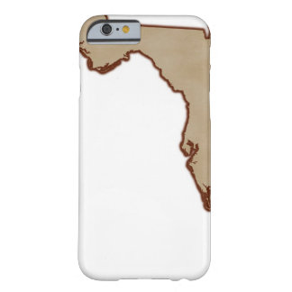 Relief Map of Florida Barely There iPhone 6 Case