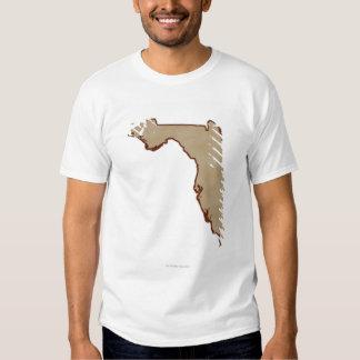 Relief Map of Florida Shirt