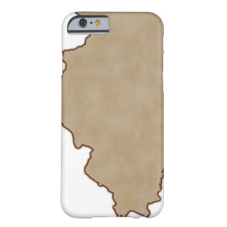 Relief Map of Illinois Barely There iPhone 6 Case