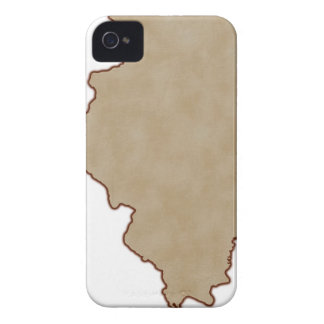 Relief Map of Illinois Case-Mate iPhone 4 Case