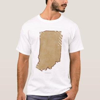 Relief Map of Indiana 2 T-Shirt