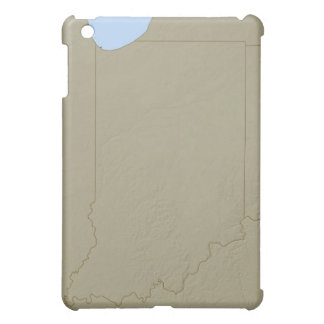Relief Map of Indiana iPad Mini Cases