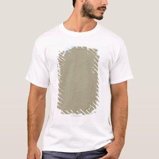 Relief Map of Indiana T-Shirt