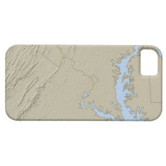 Relief Map of Maryland Case For The iPhone 5