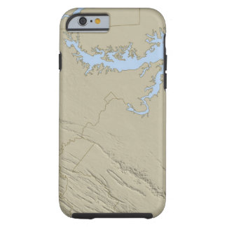 Relief Map of Maryland Tough iPhone 6 Case